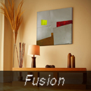 fusion series metal wall art, modern metal sculpture, contemporary metal wall decor in a modern room