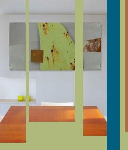 americana series metal wall art, modern metal sculpture, contemporary metal wall decor in a modern room