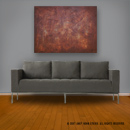 online art gallery item: abstract painting, original art in a modern decor