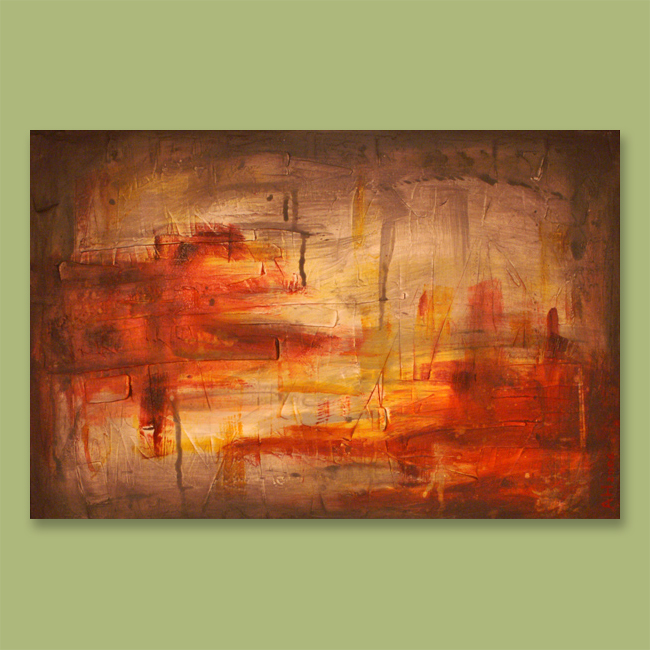 Art painting zone abstract painting for Abstract mural art